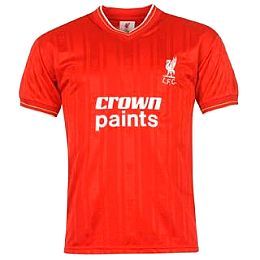 Купить Score Draw Liverpool FC 1986 Home shirt 2450.00 за рублей