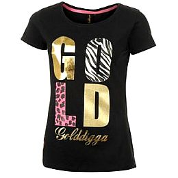 Купить Golddigga Short Sleeve T Shirt Ladies 1750.00 за рублей