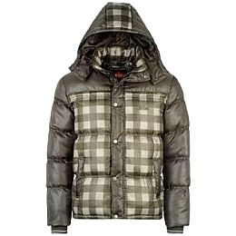 Купить Lee Cooper Cooper Check Bubble Jacket Mens 2450.00 за рублей