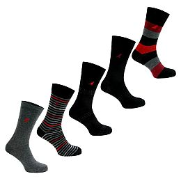 Купить Kangol Marled Mens Socks 5 Pack 1700.00 за рублей