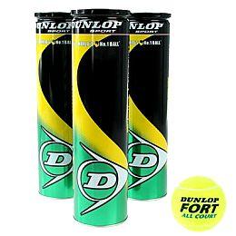 Купить Dunlop Fort All Court Tennis Balls 12 Pack 1800.00 за рублей