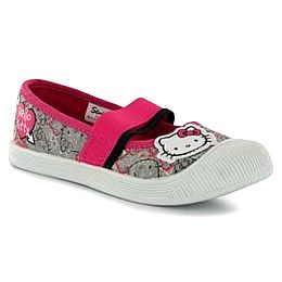 Купить Hello Kitty Childrens Canvas Ballet Shoes 1600.00 за рублей