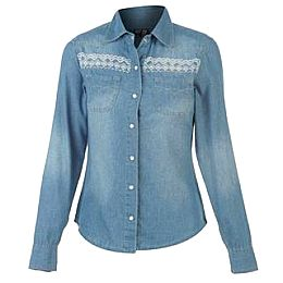 Купить Voodoo Dolls Denim Shirt Ladies 1700.00 за рублей