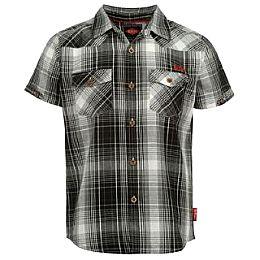 Купить Lee Cooper Short Sleeve Checked Shirt Junior 1600.00 за рублей