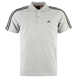 Купить adidas Essentials 3 Stripe Polo Shirt Mens 2150.00 за рублей