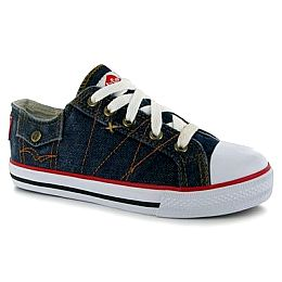 Купить Lee Cooper Cooper Denim Low Canvas Shoes Childrens 1550.00 за рублей