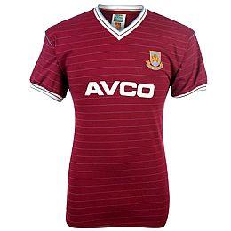 Купить ScoreDraw Retro West Ham 1986 Home Shirt 2450.00 за рублей