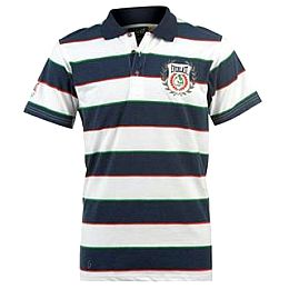 Купить Everlast Stripy Short Sleeved Polo Shirt Mens 800.00 за рублей