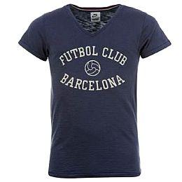 Купить Nike FC Barcelona Vintgage V Neck T Shirt Mens 2300.00 за рублей