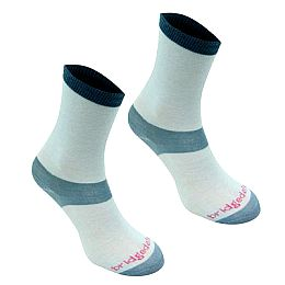 Купить Bridgedale Coolmax Liner Socks 2 Pack Ladies 1950.00 за рублей