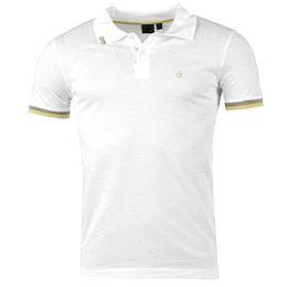 Купить Calvin Klein Luxe Micro Polo Shirt Mens 2700.00 за рублей