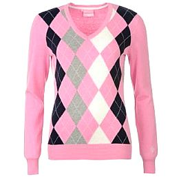 Купить Dunlop Argyle Sweater Ladies 2050.00 за рублей
