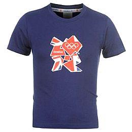 Купить 2012 Team GB Union Jack Infill T Shirt Infants 700.00 за рублей
