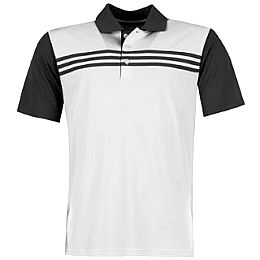 Купить adidas 3 Stripe Block Golf Polo Shirt Mens 2600.00 за рублей
