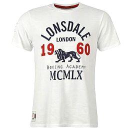 Купить Lonsdale Crew T Shirt Mens 1650.00 за рублей