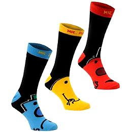 Купить Mr Men Men Men Socks 3 Pack Mens 700.00 за рублей