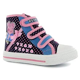 Купить Peppa Pig Pig Infants Canvas Hi Tops 1950.00 за рублей