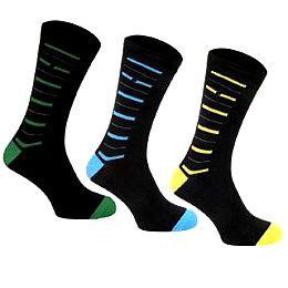 Купить Kangol 3 Pack Stripe Foot Socks Mens 750.00 за рублей