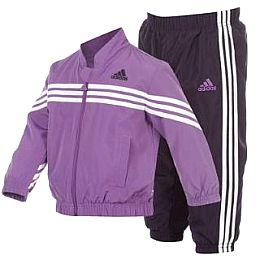 Купить adidas 3 Stripe Woven Tracksuit Infants 2200.00 за рублей