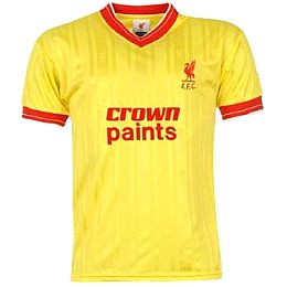 Купить Score Draw Liverpool FC 1986 Away Shirt 2450.00 за рублей