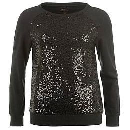 Купить Golddigga Sequin Crew Sweater Ladies 1750.00 за рублей