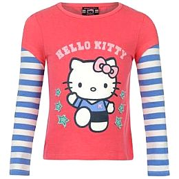 Купить Hello Kitty Short Sleeved T Shirt Infant Girls 700.00 за рублей