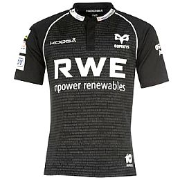 Купить KooGa Ospreys Home Rugby Shirt 2012 2013 3250.00 за рублей