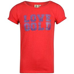 Купить Golddigga Sequin T Shirt Girls 800.00 за рублей
