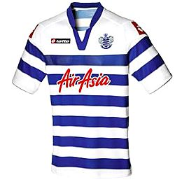 Купить Lotto QPR Home Shirt 2012 2013 2900.00 за рублей
