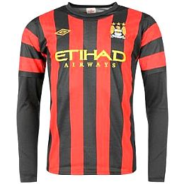 Купить Umbro Manchester City Away Shirt 2011 2012 LS 2700.00 за рублей