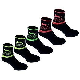Купить Slazenger Colour Crew Socks 5 Pack 650.00 за рублей