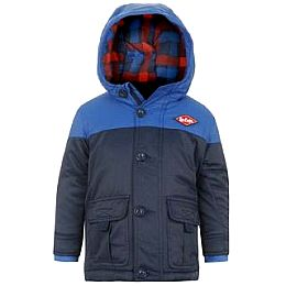 Купить Lee Cooper Hooded Padded Jacket Infants 1950.00 за рублей