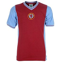 Купить Score Draw Draw Retro Aston Villa 1982 Champions of Europe Shirt 2250.00 за рублей