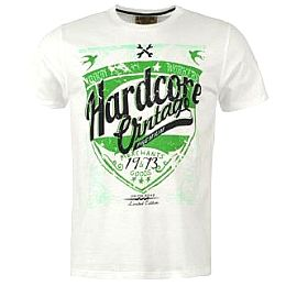 Купить Hardcore Brush T Shirt Mens 1650.00 за рублей