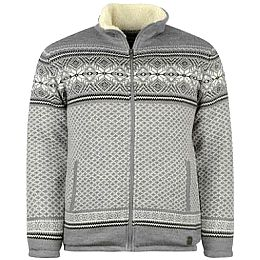 Купить Lee Cooper Cooper Fair Isle Lined Knitted Jacket Mens 2400.00 за рублей