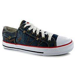 Купить Lee Cooper Denim Low Canvas Shoes Ladies 1650.00 за рублей