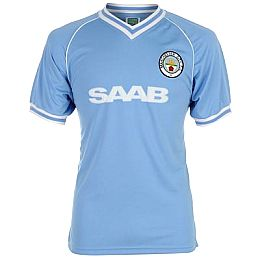 Купить Score Draw Retro Manchester City 1982 Home Shirt 2250.00 за рублей