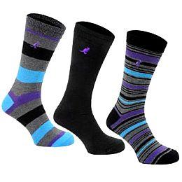 Купить Kangol 3 Pack Coloured Socks Mens 750.00 за рублей