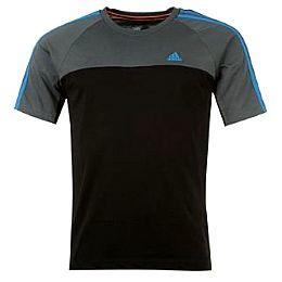Купить adidas 3 Stripe Essential Crew T Shirt Mens 2000.00 за рублей
