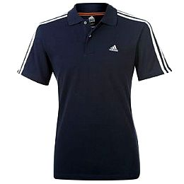 Купить adidas Essentials 3 Stripe Polo Shirt Mens 2250.00 за рублей