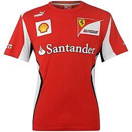 Купить Puma Scuderia Ferrari Team T Shirt Mens 2450.00 за рублей