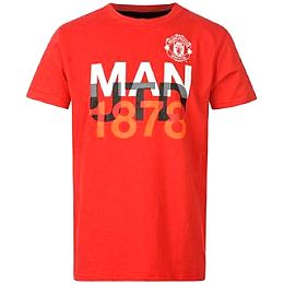 Купить Source Lab Manchester United Graphic T Shirt Junior 1600.00 за рублей