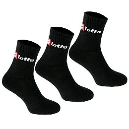 Купить Lotto Crew Socks 3 Pack Mens 650.00 за рублей