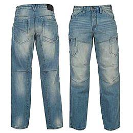 Купить Soviet Marlon Bleached Jeans Mens 2000.00 за рублей