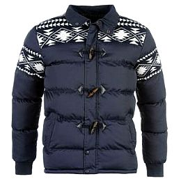 Купить Lee Cooper Fair Isle Knit Bubble Jacket Mens 2200.00 за рублей