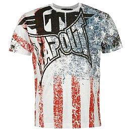 Купить Tapout Stars and Stripes T Shirt Mens 1700.00 за рублей