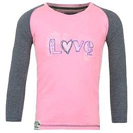 Купить Lee Cooper Raglan Long Sleeve T Shirt Girls 800.00 за рублей