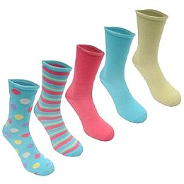 Купить Voodoo Dolls 5 Pack Dress Socks Ladies 700.00 за рублей