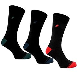 Купить Kangol 3 Pack Heel and Toe Socks Mens 750.00 за рублей