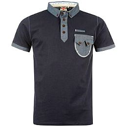 Купить Lee Cooper Chambray Trim Polo Shirt Mens 1750.00 за рублей